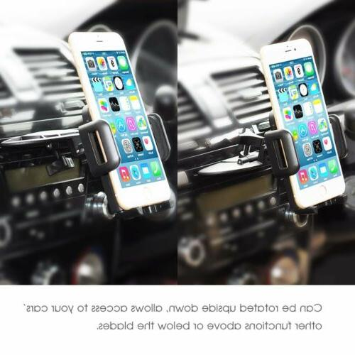 Mpow CD Slot Mount Holder Cell Phone