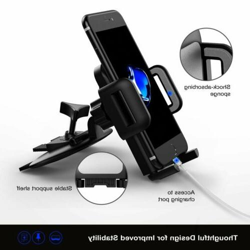 mpow Car CD Slot Mount For Mobile iPhone Samsung