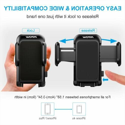 mpow 360° Car CD Slot Mount Bracket For iPhone Samsung