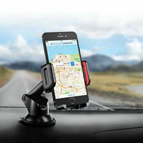 MPOW 360°Rotating Car Windshield Bracket for