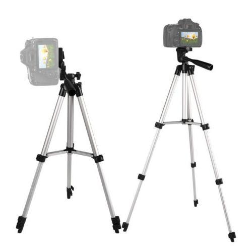 "46"" Professional Camera Tripod Stand iPhone/Samsung"