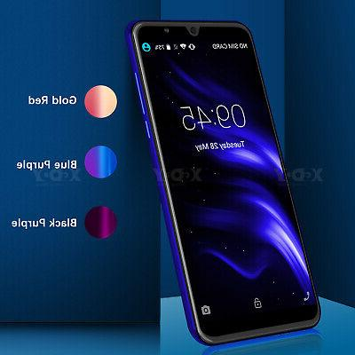 Unlocked 6 Inch Android 8.1 Cell Phone Dual SIM 3G GPS GSM Q