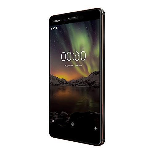 "Nokia TA-1068 Black Copper, 5.5"", GSM International Model, Warranty"