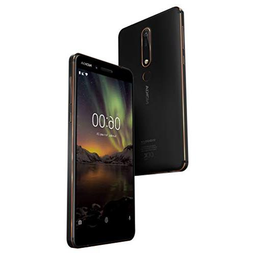 """Nokia One - Pie 32 - Smartphone - 5.5"""" - Black - U.S. Warranty"""