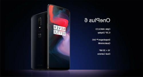 OnePlus 6.28'' Dual Sim 64/128/256GB Smartphone