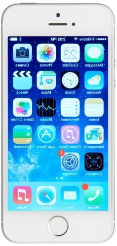 Apple iPhone 5S 32 GB Unlocked, Silver