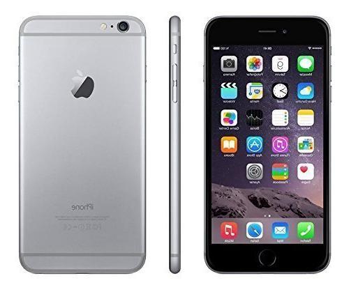 Apple iPhone 6 Plus, GSM Unlocked, 64GB - Space Gray