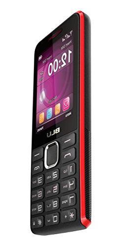 BLU Tank II T193 Unlocked GSM Phone w/ Camera and 1900 mAh - Unlocked Cell Black Red