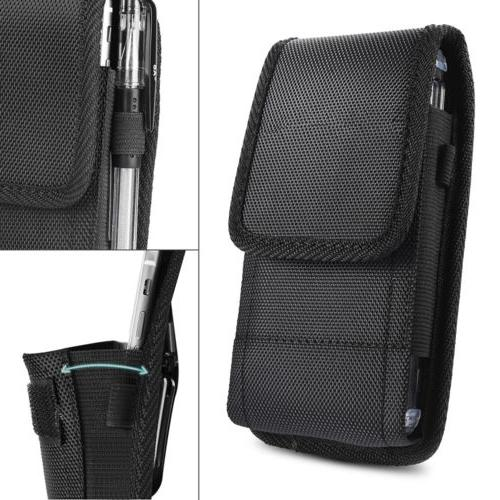 Belt Clip Vertical Holster Pouch Carrying Case For Apple/Sam