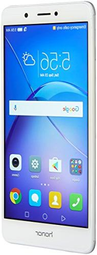 Huawei - Honor 6x 4g Lte With 32gb Memory Cell Phone  - Silv