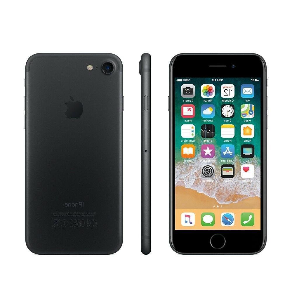 ***IPHONE 7 32GB BLACK FACTORY UNLOCKED! APPLE 32 GB GSM MAT