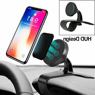 Magnetic Car Dashboard Mount Holder Stand HUD Design Cradle
