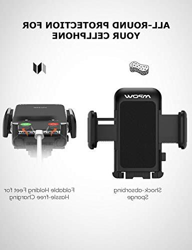 Mpow 033 Cell Holder for Long Mount Car Compatible Xs