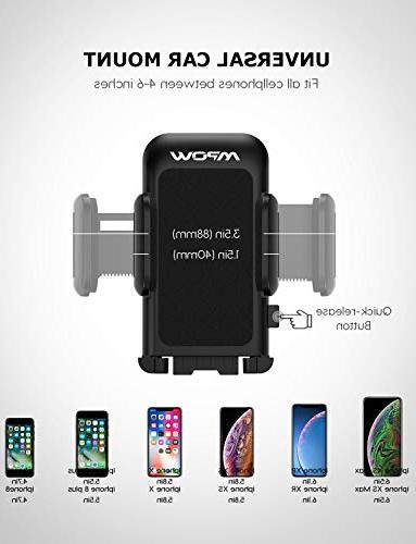 Mpow Cell Holder for Car, Long Arm Mount Design Car Holder Compatible Xs