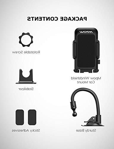 Mpow Holder Car, Long Arm Car Design Anti-Skid Car iPhone Xs Galaxy