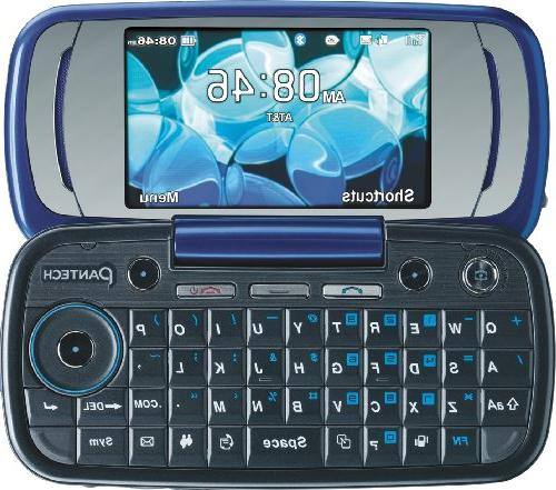 Pantech P7000 Phone, Blue