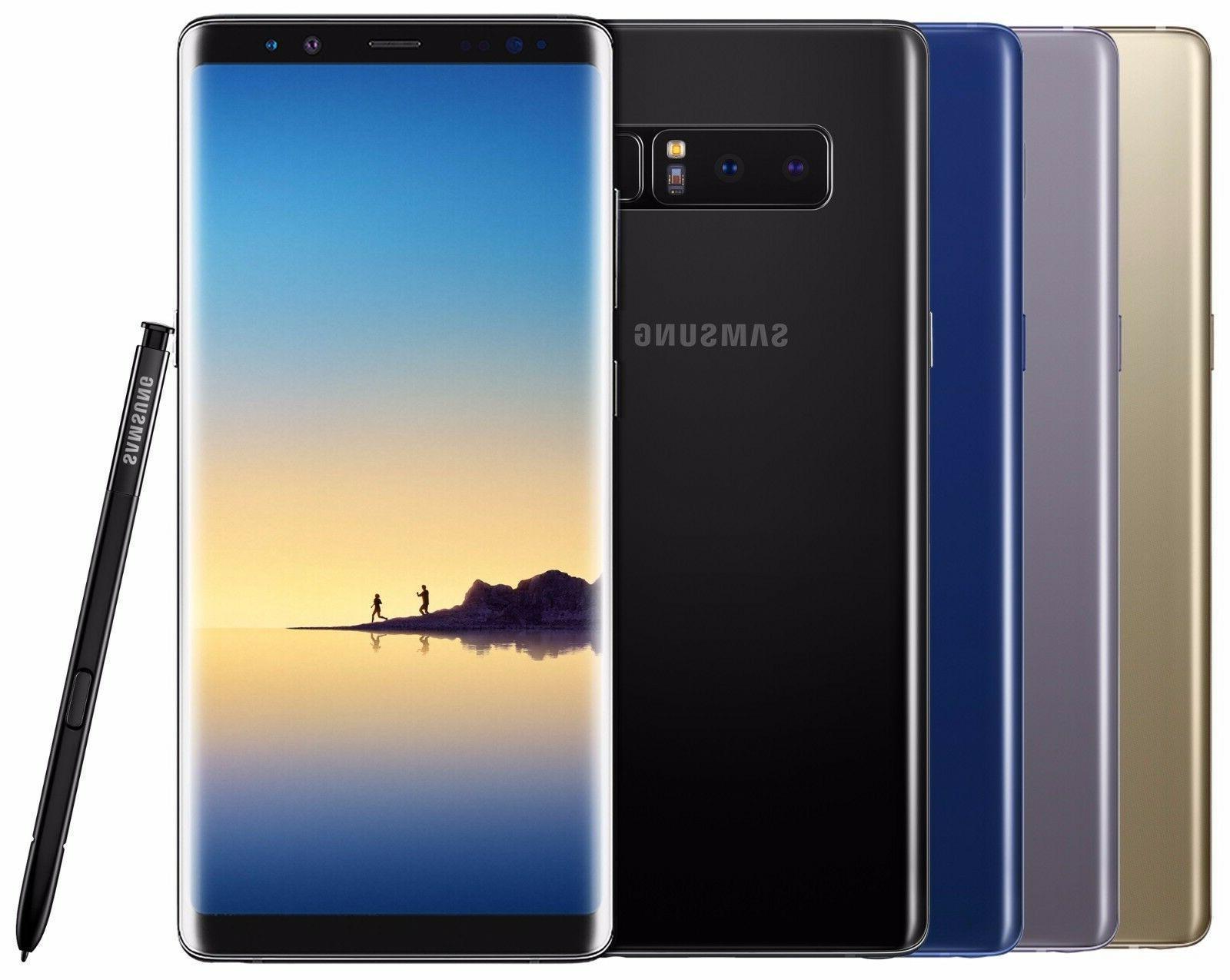 Samsung Galaxy Note 8 SM-N950F/DS 64GB  Black Gold Gray Pink