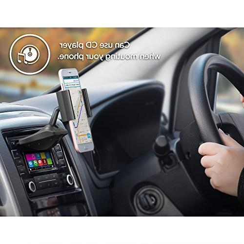 Upgraded IPOW One Installation Holder IPOW Car Cradle X 8 8P 6P Galaxy S7 Google,