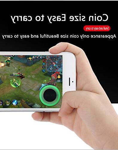 Vakili Mobile Phone Game Screen for iPhone Mobile Tablet Smart Phone Joystick Joypad Tablet Funny Game Controller 2PACK