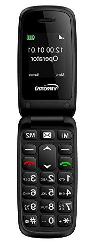 YINGTAI - T15A 2G Big Button Easy to Use Flip Mobile Phone w