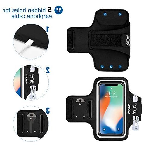 Mpow Armband, Water-Resistant Armband for Reflective 8/8plus/7, Samsung Galaxy Plus/S8