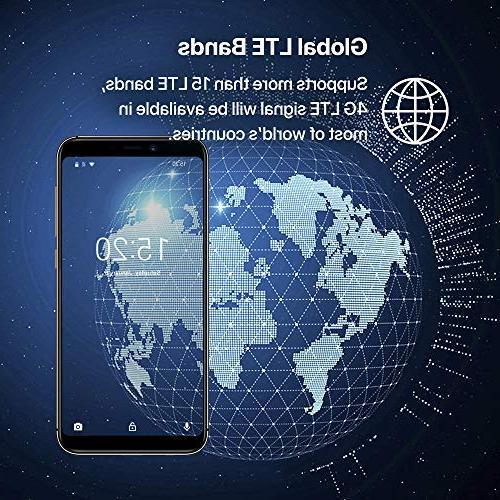 UMIDIGI A3 16GB Cell Android Slot, NanoSIMs+Micro-SD + Dual Camera Fingerprint Smartphone