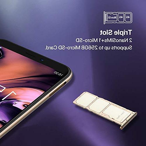 UMIDIGI 16GB Android Ram Slot, 2 + Dual Fingerprint Smartphone