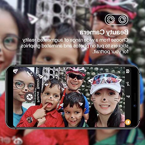 UMIDIGI Mobile Android 8.1-2GB Ram Slot, 2 + Dual Fingerprint Battery Smartphone