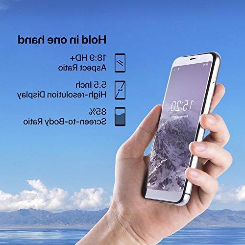 UMIDIGI Mobile 16GB Unlocked Android 8.1-2GB Ram Triple Slot, 2 + 5MP Fingerprint Smartphone