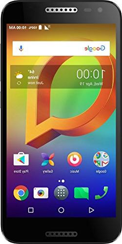 "Alcatel A30 CDMA Unlocked Smartphone  - 5"" HD Display, 16 GB"