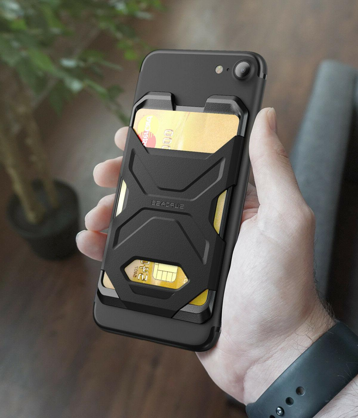 SUPCASE Adhesive Slim Credit Card Cell Phone