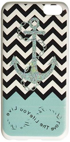 Anchor Chevron Retro Vintage Tribal Nebula Pattern Hard Case