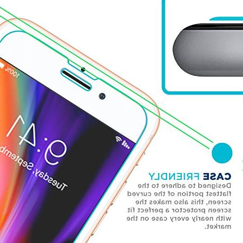 Tech Armor 6, 6s, iPhone Glass Screen Protector, Glass 99.99% Clarity and 3D Accuracy,