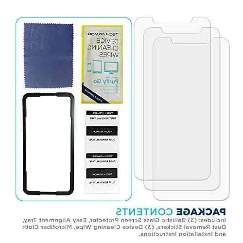 Xs Screen Protector Case-Friendly Tempered Glass, Designed for Apple