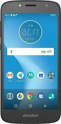 AT&T Moto E5 Play with 16GB Memory Prepaid Cell Phone - Blac