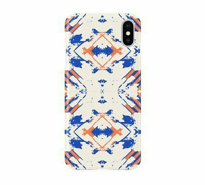 blue orange basic cell phone case iphone