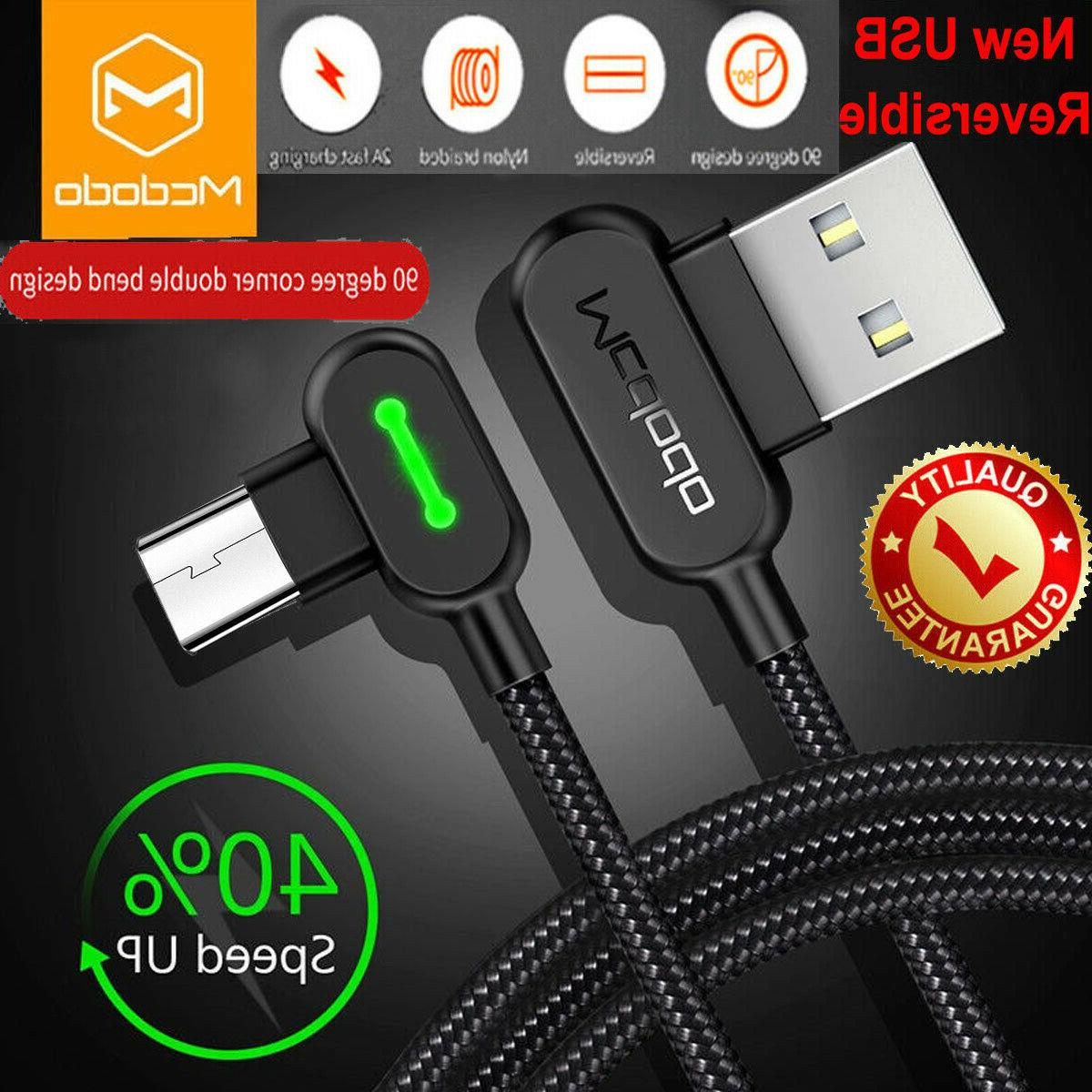 braided micro usb fast charging charger cable