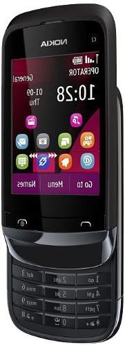 Nokia C2-02 Cellphone - 2-Inch TFT - FM Radio - 2 MP Camera