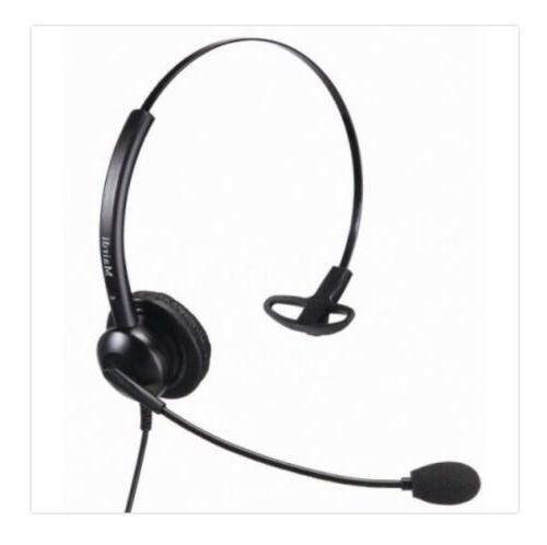 call center gooseneck headset w multiple attachments