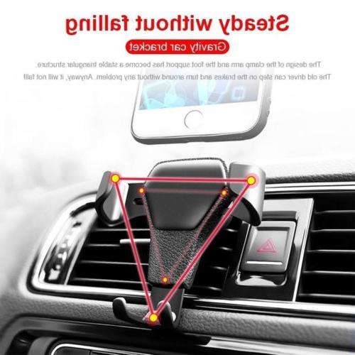 Car Air Vent Gravity Design For Phone iPhone XS Max XR