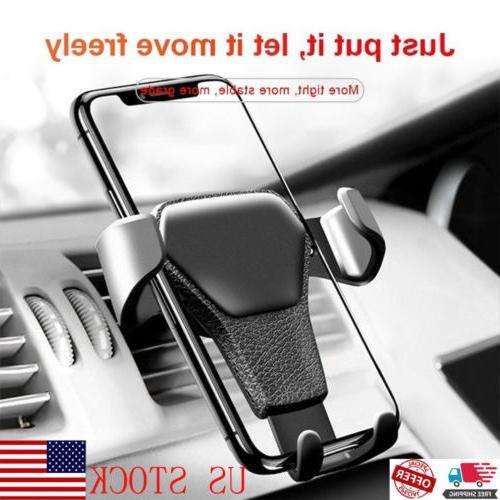 car air vent gravity design mount holder