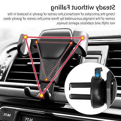 Car Air Gravity Design Cradle Stand For Mobile Phone