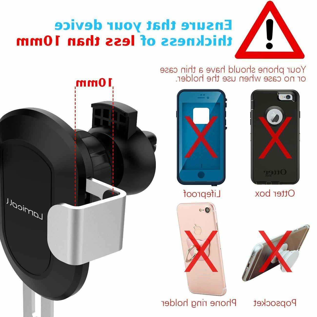 Car Automatic Mount Clip Cellphone Auto
