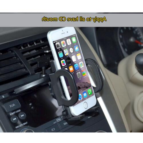 360° Slot Mount Bracket Mobile Cell Samsung GPS