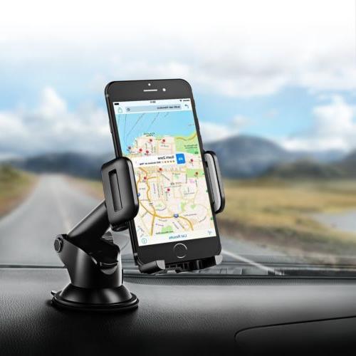 MPOW Car Mount Windshield Dashboard Stand US