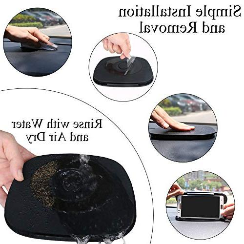 Cell Holder Car,Car Phone Mount Dashboard,Silicone GPS Holder in for X 9 Plus and Inch Mobile