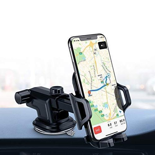 VANMASS Car Phone Dashboard Windshield Air Cell for Car, Stick Cradle with Xs XR 8 7 S8 G6 V20
