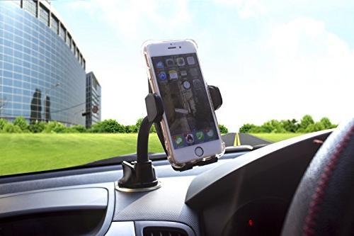Marsee Car Phone Windshield Mount Anti-skid Base Android Phone Cradle