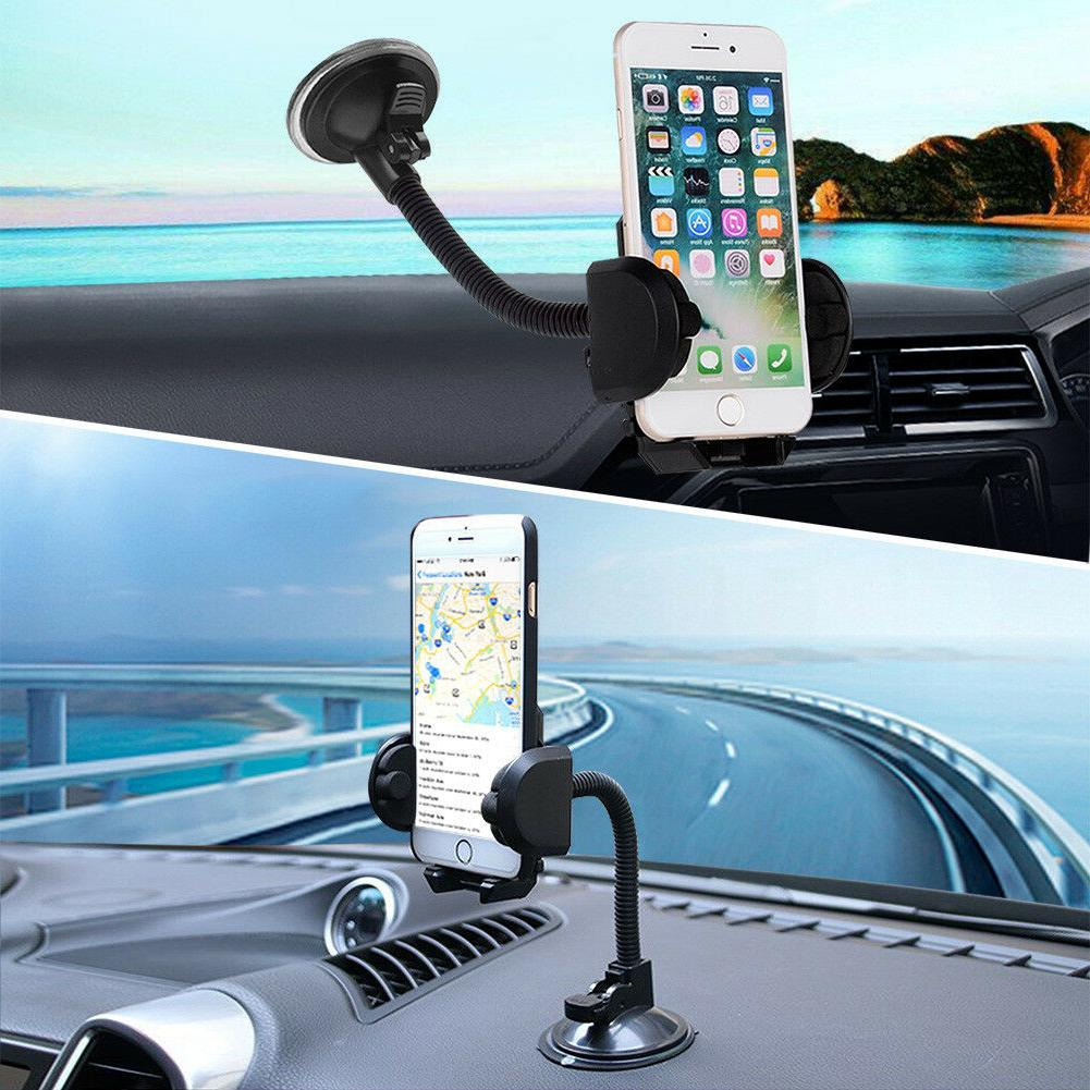 360° Car Windshield Holder Cradle iPhone Cell