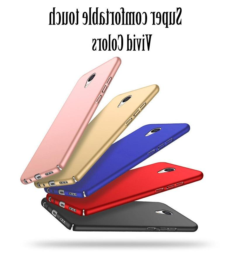 Case Note M5s <font><b>Phone</b></font> Back Cover Plastic Shockproof Ultra Casing Housing